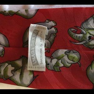 Other - Elephant Theme Men's Necktie. Amanda Tierra